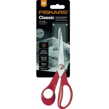 Fiskars Classic balkezes szabóolló L, 21 cm
