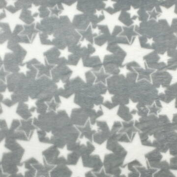 Wellsoft (Léda) – Szürke alapon fehér csillag mintával