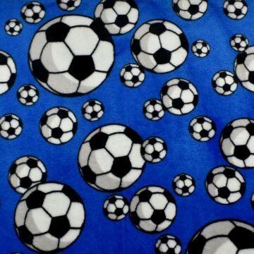 Wellsoft – Kék alapon focilabda mintával