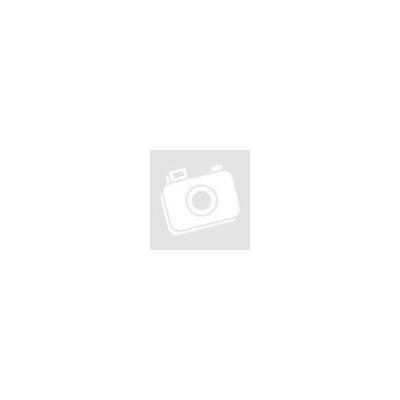Barbi Crepe - Fekete alapon színes rózsa virágos bordűrrel