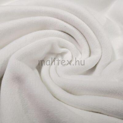 Pamut futter – Fehér színben