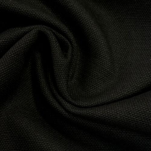 Bútorvászon, canvas – Fekete színű üni