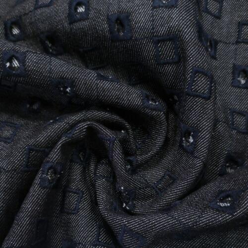 Farmer – Hímzett, lyukacsos mintával, elasztikus