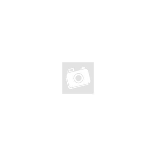 Pamut jersey – Sárga rombusz és virág mintával