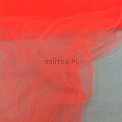 Lágy tüll – Neon narancssárga színben, extra széles