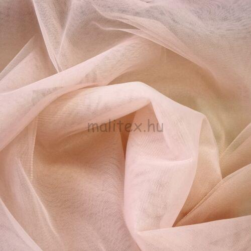 Lágy tüll – Mályva színben, extra széles