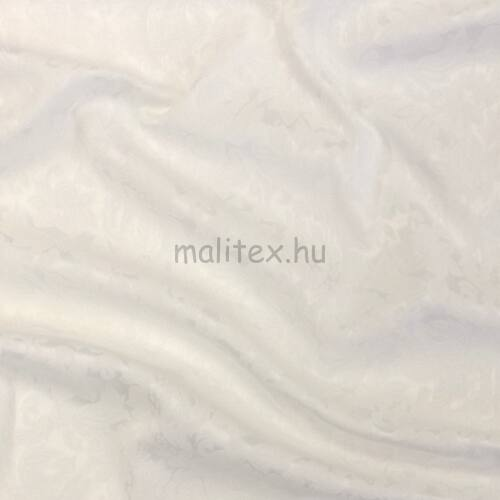 Jacquard – Fehér színű, sűrű virág mintával