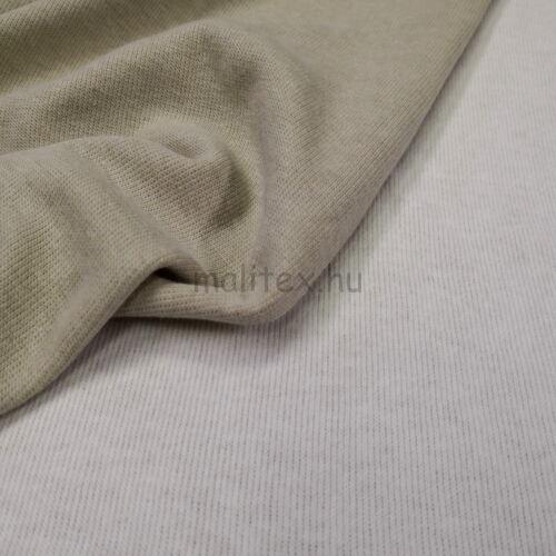 9fabbc20b7 Kétoldalas kötött kelme – Fehér és bézs színben