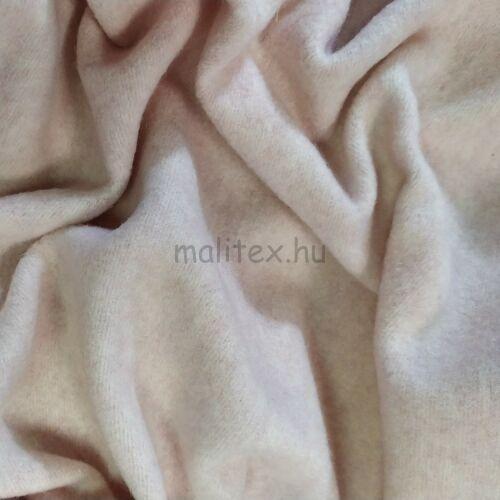 Kötött kelme – Angóra, foltos pasztel rózsaszín színben