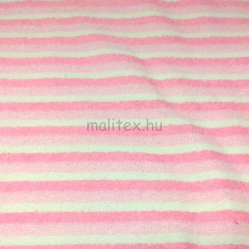 Wellsoft – Rózsaszín-fehér csíkos mintával