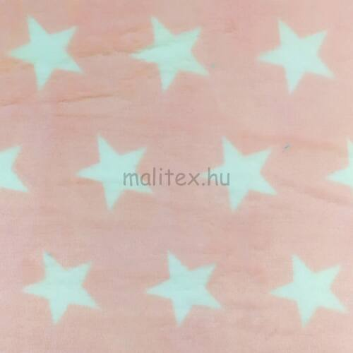 Wellsoft (Léda) – Csillag mintával, rózsaszín színben, kétoldalas