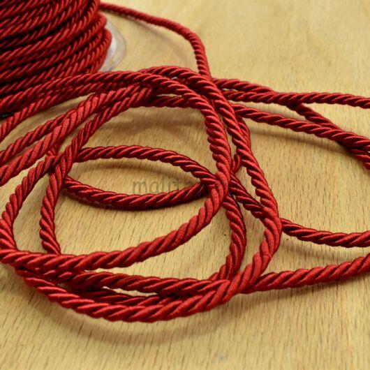Sodrott zsinór – Piros színben, 3mm