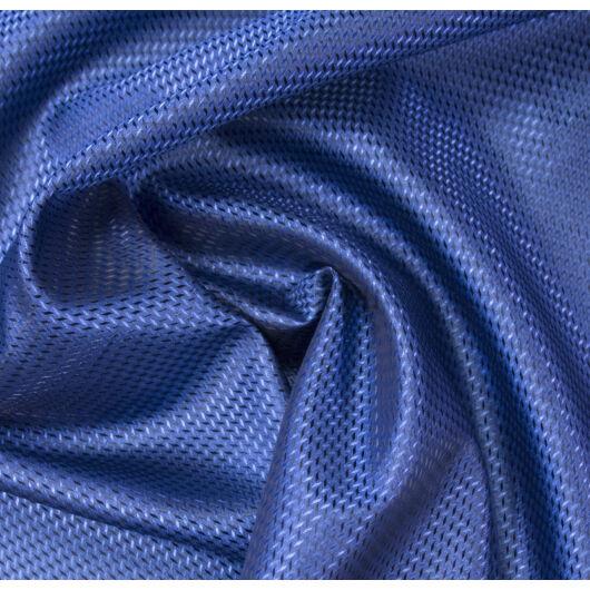Selyem bélés – Rombusz mintával, kék színben