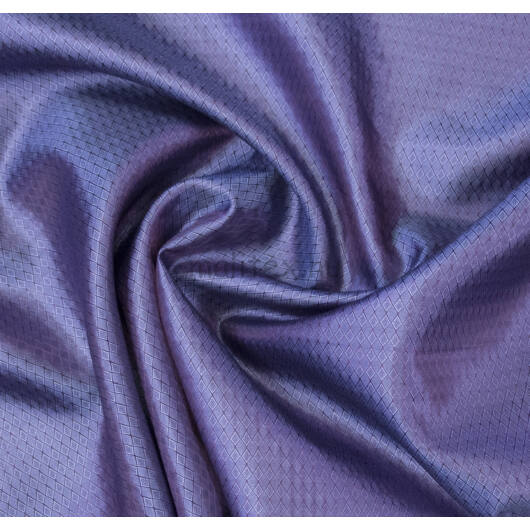 Selyem bélés – Rombusz mintával, lila színben