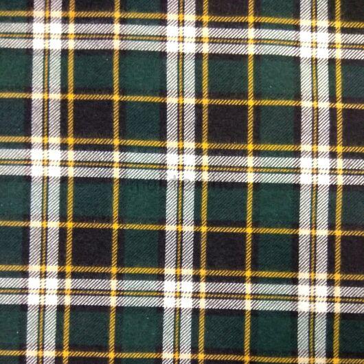 Flanel – Skótkockás mintával, zöld árnyalatban
