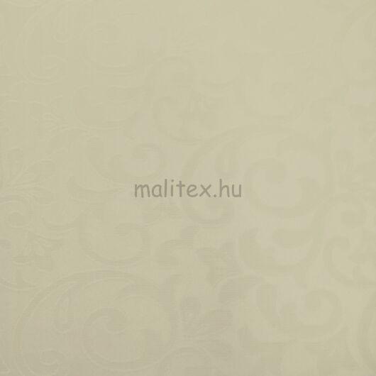 Teflonos damaszt – Indázó mintával, tört fehér színben