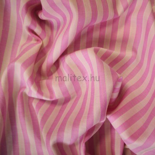 Batiszt – Elasztikus, rózsaszín és vanília színű csíkokkal