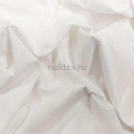 Lepedővászon – Fehér színben 150cm, kevert szálas, 140gr/m2