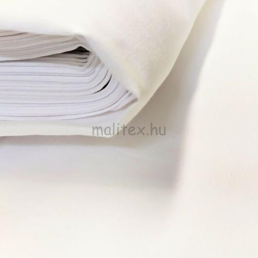 Lepedővászon Véges – Fehér színben 150cm, kevert szálas, 140gr/m2 / 100m