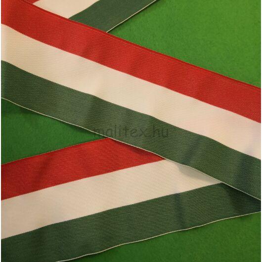 Nemzeti szalag – Magyar nemzeti színű szövött szalag, 10cm