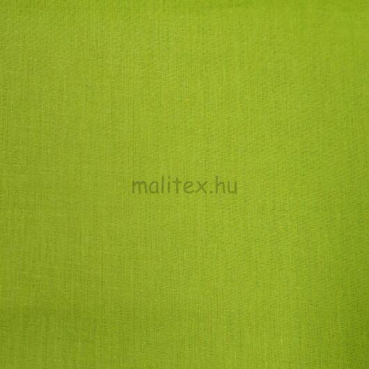 Pamutvászon – Kivizöld színű üni