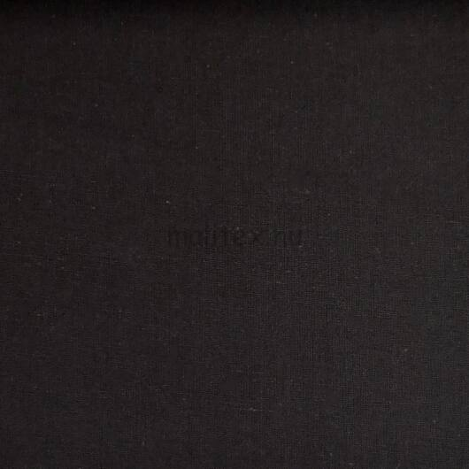 Pamutvászon – Fekete színű üni