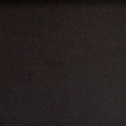 Pamutvászon – Fekete színű üni, szálhibával