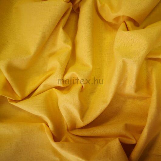 Pamutvászon – Nap sárga színű üni