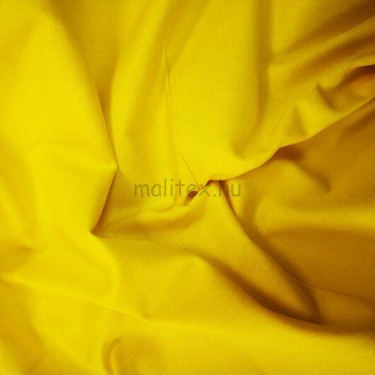 Pamutvászon – Sárga színű üni