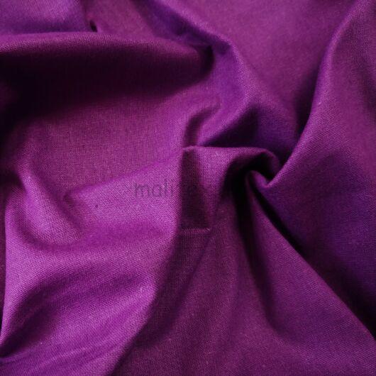 Pamutvászon – Sötét lila színű üni