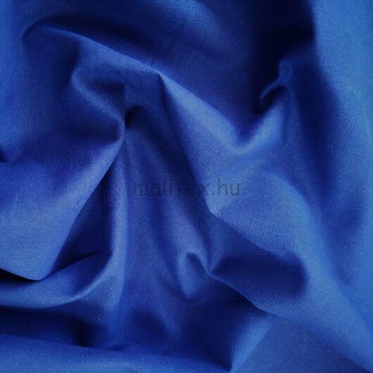 Pamutvászon – Királykék színű üni