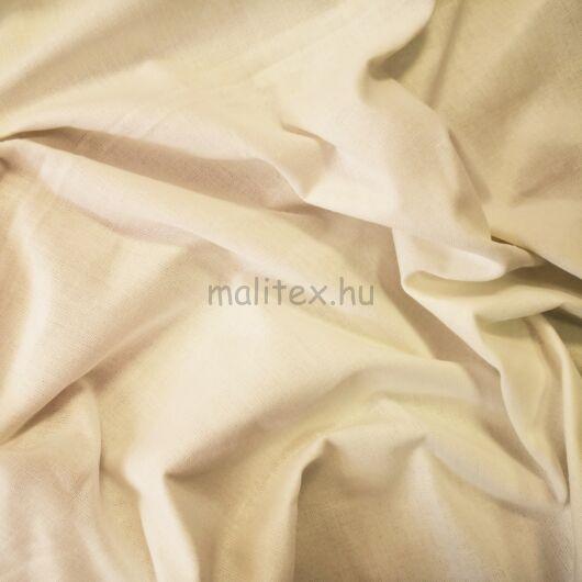 Pamutvászon – Krém színű üni (tojáshéj) 240cm széles!