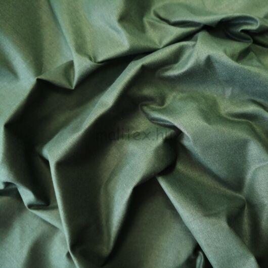 Pamutvászon – Moha zöld színű üni