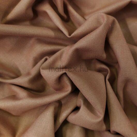 Pamutvászon – Világos barna színű üni