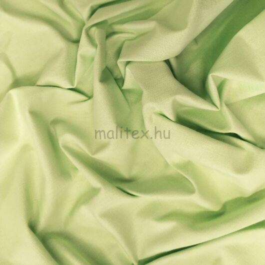 Pamutvászon – Alma zöld színű üni