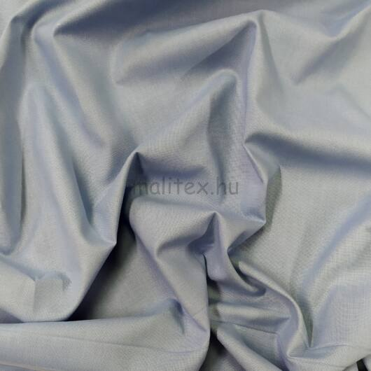Pamutvászon – Halvány szürkéskék színű üni