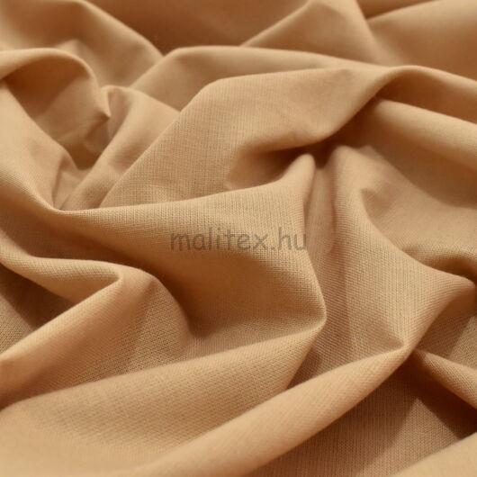 Pamutvászon – Bézs színű üni, 240cm széles!
