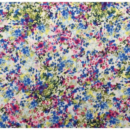Selyem – Apró virágözön mintával