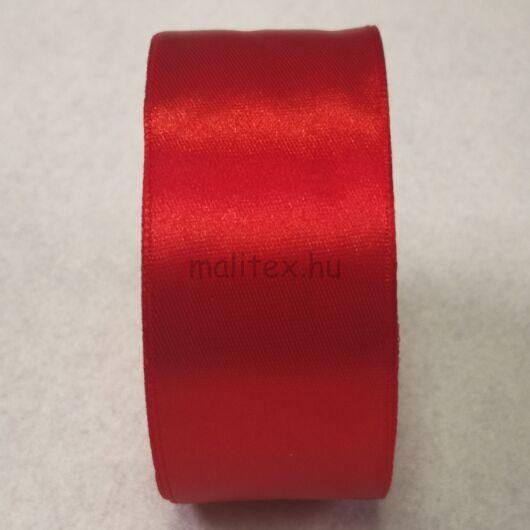 Szatén szalag – Piros színben, 4cm