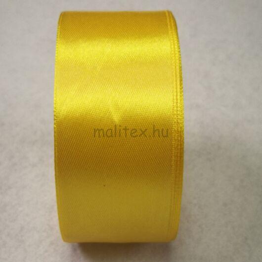 Szatén szalag – Citromsárga színben, 4cm