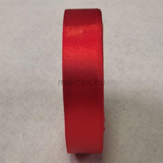 Szatén szalag – Piros színben, 2cm