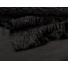 Kép 4/4 - Műszőrme – Fekete színben, hullám mintával