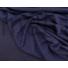 Kép 4/5 - Kötött kelme – Steppelt virág mintával, sötétkék