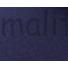 Kép 5/5 - Kötött kelme – Steppelt virág mintával, sötétkék