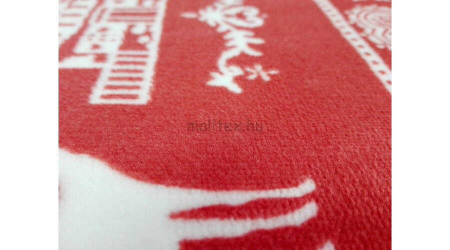 Wellsoft (Léda) – Piros és fehér karácsonyi mintával 3a686575d9