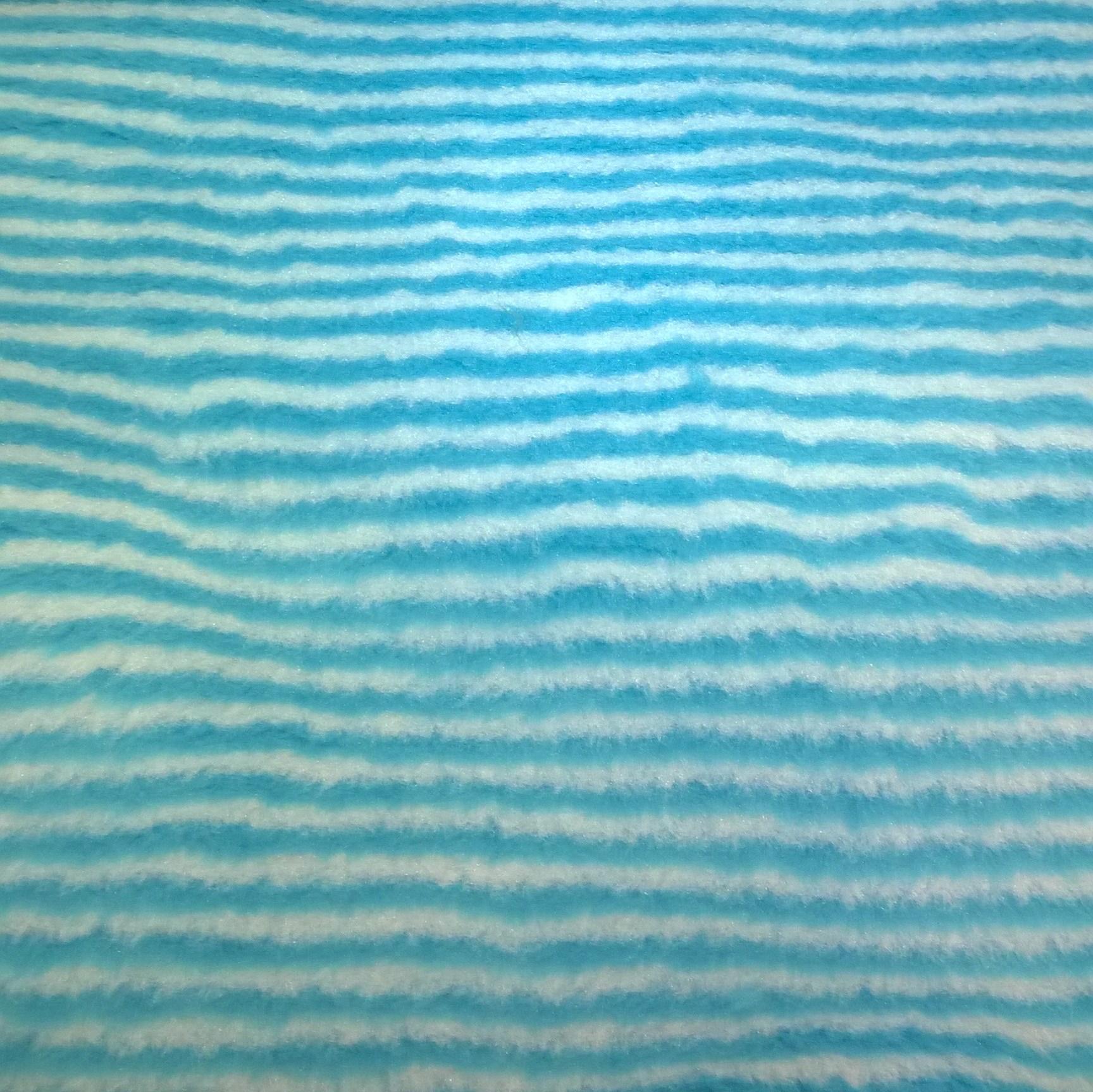 Műszőrme – Kék-fehér csíkos mintával 83421110b3
